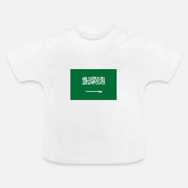 Jeddah National flag of Saudi Arabia - Baby T-Shirt