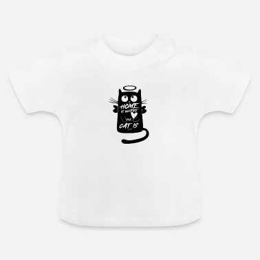 a cat's friend - Baby T-Shirt