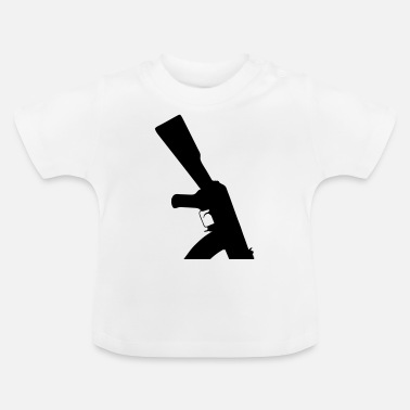Assault Rifle AK-47 Assault Rifle - Baby T-Shirt