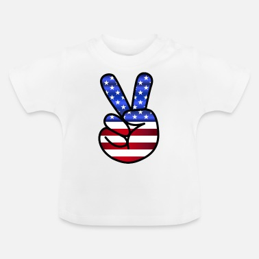 Us US Peace - T-shirt baby