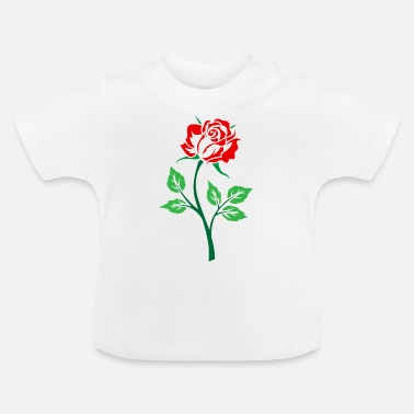 Red Rose Red rose - Baby T-Shirt