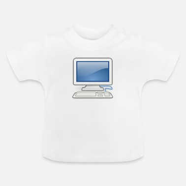 Pc ideaal voor pc-nerds of pc in de liefde - Baby T-shirt