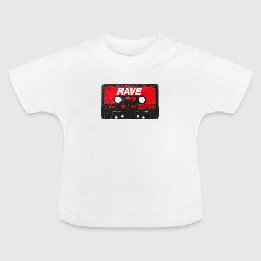 Rave Vintage Cassette - Techno Acid Synth Nerd 80s - Baby T-shirt