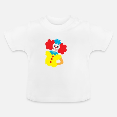 Kids Carnival Funny Clown Carnival Baby Clothing Kids Fashion - Baby T-Shirt
