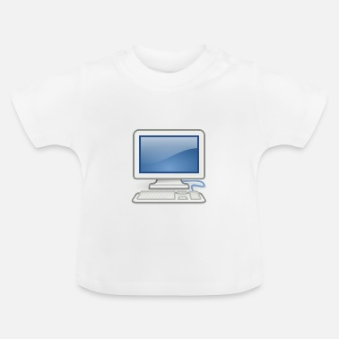 Pc great for PC nerds or PC in love - Baby T-Shirt
