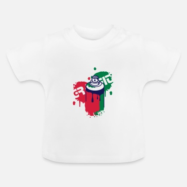 Graffiti spray can Graffiti Style - Baby T-Shirt