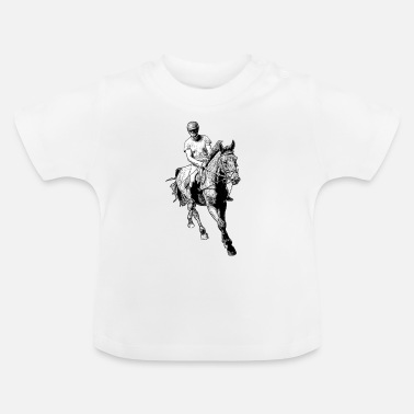 Gallop Horse in Gallop - Baby T-Shirt