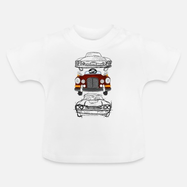 Coole Cooles Auto Design, coole Geschenkidee - Baby T-Shirt