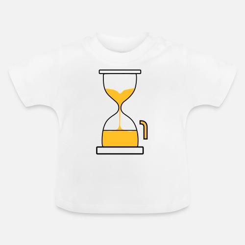 Zandloper Verjaardag 1 Jaar Baby T Shirt Spreadshirt
