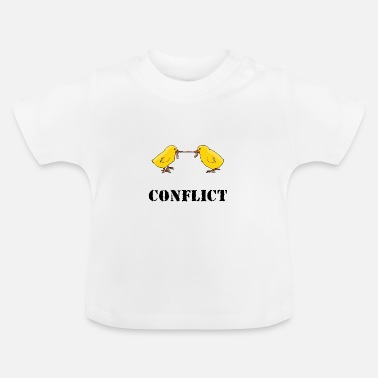 Conflict conflict - Baby T-Shirt