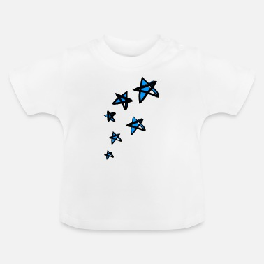 Funkelnde Sterne - Baby T-Shirt