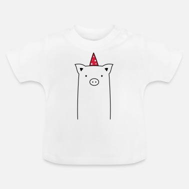 Sau Gris Party - Party Sau - Baby-T-shirt