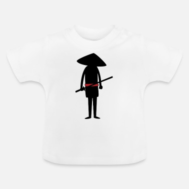 karate martial arts thai boxing ninja kickboxing56 - Baby T-Shirt