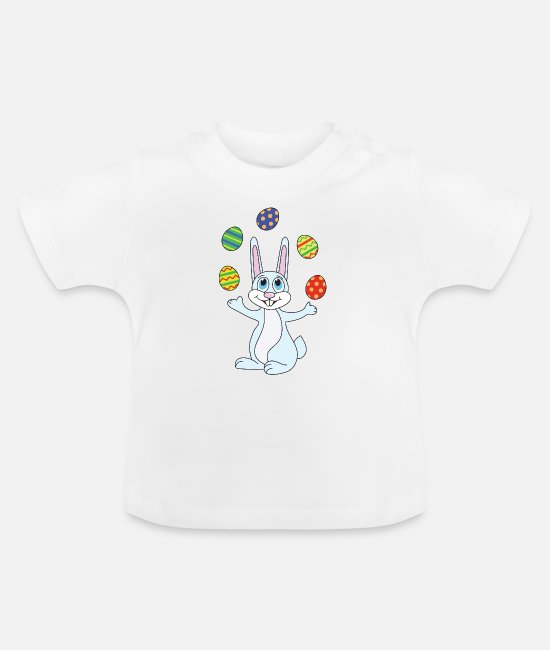 Easter Baby Clothes - Easter easter bunny - Baby T-Shirt white