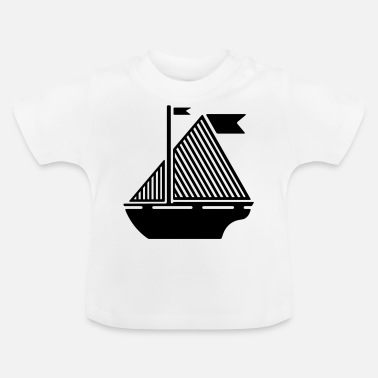 Illustration Illustration bateau - T-shirt Bébé