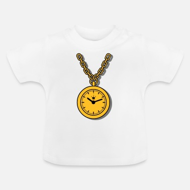 Clock clock, chain - Baby T-shirt