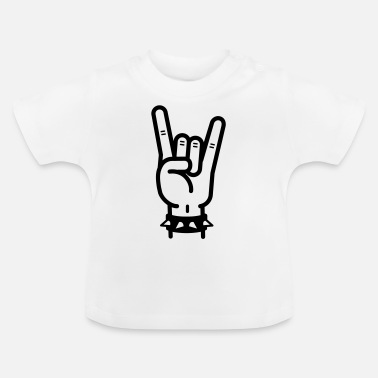 Hard Rock hard rock - Baby T-Shirt