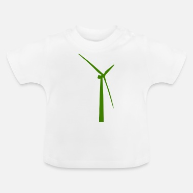 Wind windmill windmill wind turbine windrad43 - Baby T-Shirt