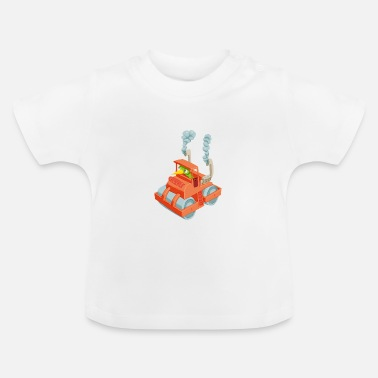 Vehicle Caterpillar in a vehicle - Baby T-Shirt