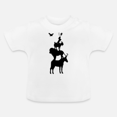 Tier Tiere - Baby T-Shirt
