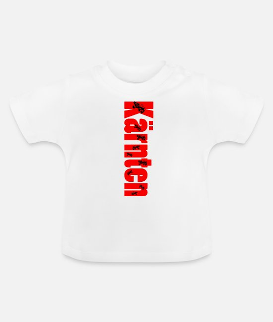 Quote Baby T-Shirts - Carinthia - Baby T-Shirt white