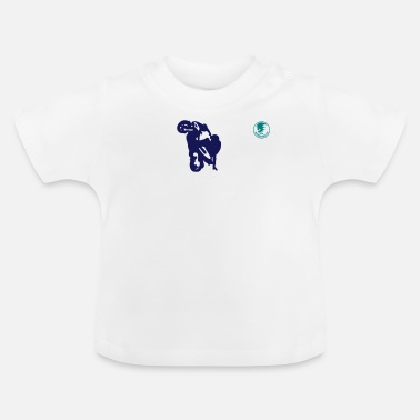Stunt stunt moped - Baby T-shirt