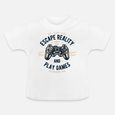 Video Video gamere spille spillere gamble kasse jul - Baby T-shirt