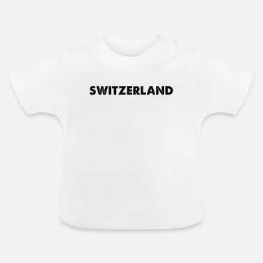 Nationale Het nationale vaderland van de nationale trots van Zwitserland - Baby T-shirt