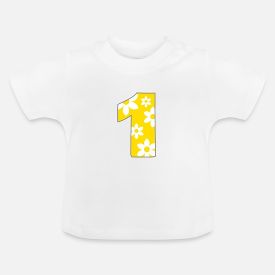 Flowers Baby Clothes - one - Baby T-Shirt white