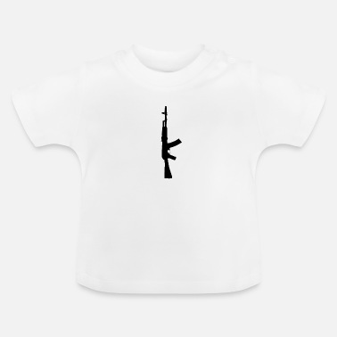 Assault Rifle Assault rifle Ak-47 Russia rifle - Baby T-Shirt