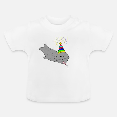 B Day B-day seal - Baby T-Shirt