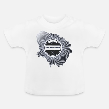 Easy Going Fashion Easy Going Fashion für Kleider als cooles Logo - Baby T-Shirt