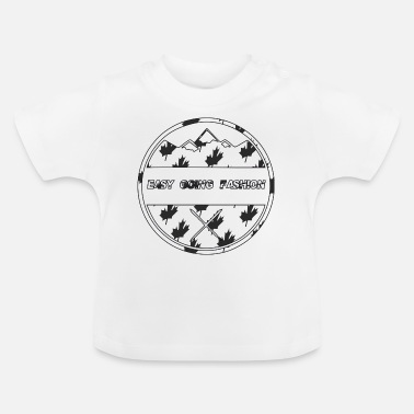 Easy Going Fashion Easy Going Fashion Logo Canada Style Geschenk Idee - Baby T-Shirt
