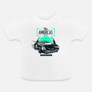 Car The Americas muscle car USA 1949 car racing tune - Baby T-Shirt