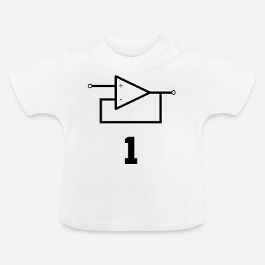 Förstärkare Operativ förstärkare Elektroteknik - T-shirt baby ca1cdb2581664