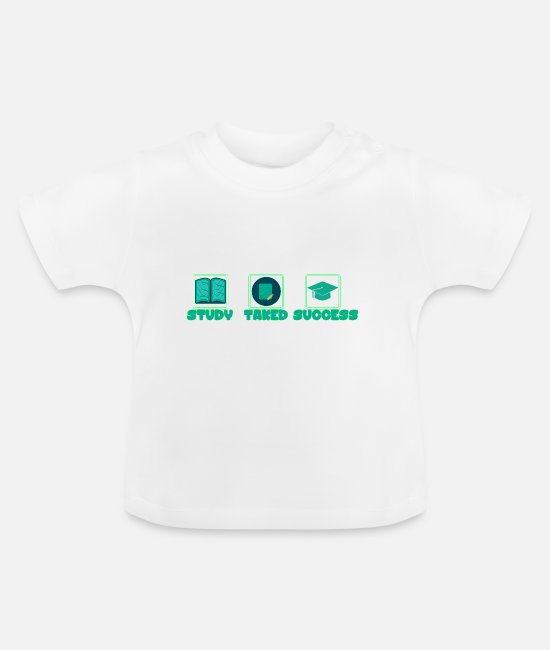 Whiz Baby Clothes - Success guide - Baby T-Shirt white