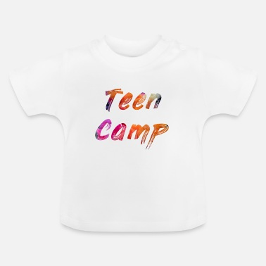Teen Teen Camp - Baby T-Shirt