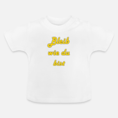 Lettering lettering - Baby T-Shirt