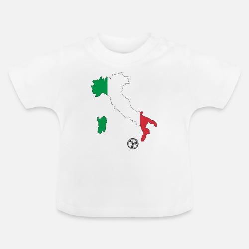 Italien Fussball Italy Italia Soccer Football Baby T Shirt Spreadshirt