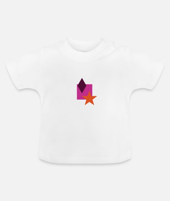 Hipster Baby T-Shirts - Hip Style - Baby T-Shirt white