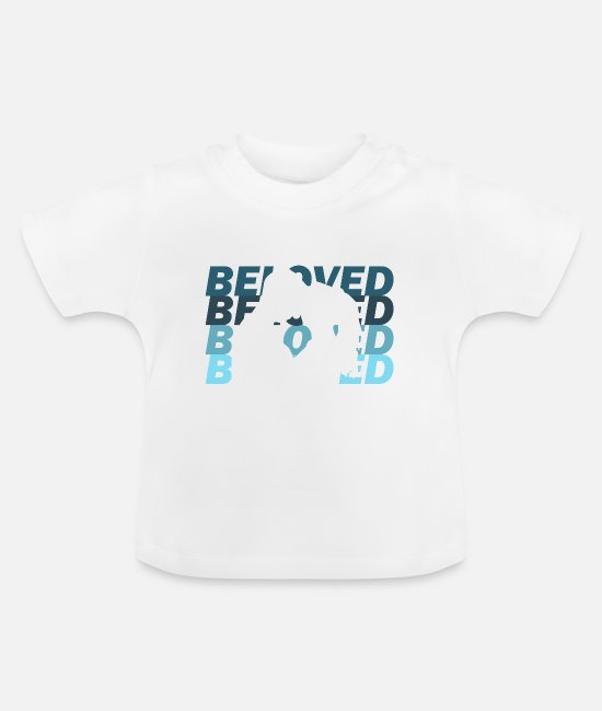 Heart Baby T-Shirts - lover - Baby T-Shirt white