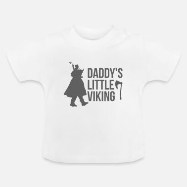 Viking Viking Daddy's Little Viking - presentidé - T-shirt baby