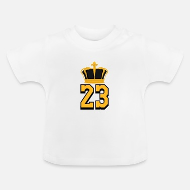 Basketball Number 23 LeBron James - Baby T-Shirt