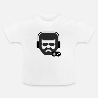 Gamer Face hipster - Baby T-Shirt