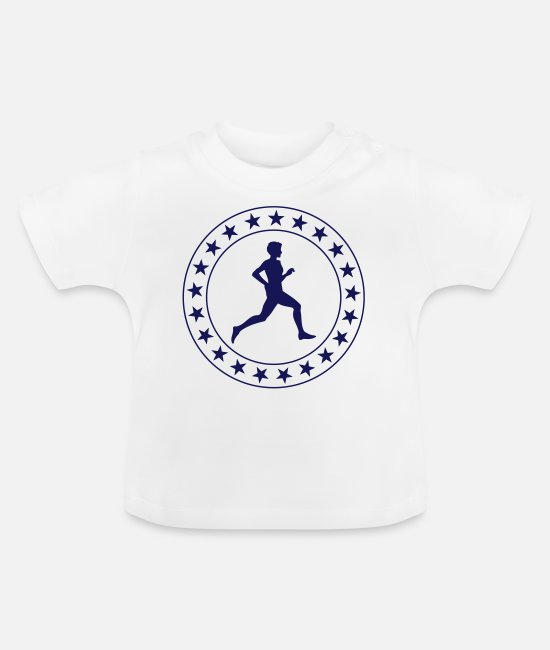 Athletics Baby T-Shirts - Athletics / Leichtathletik / Athlétisme - Baby T-Shirt Weiß