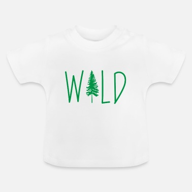 Camper Wild Adventure Mountains vakantie cadeau - Baby T-shirt