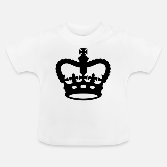 Canadian Armed Forces Baby Clothes - Warrant Officer CANADA Army, Mision Militar ™ - Baby T-Shirt white