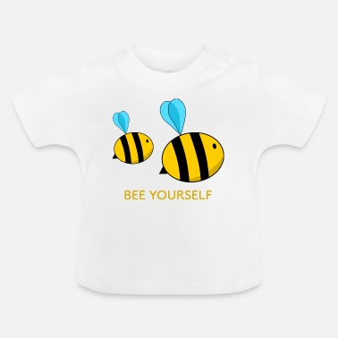 bee yourself bee self-esteem yellow - Baby T-Shirt