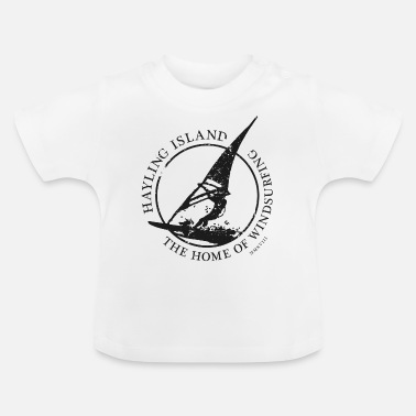windsurfer black - Baby T-Shirt