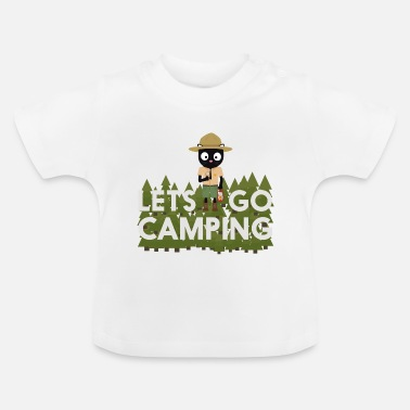 Uniforme Camping cat en el uniforme de guardaparques - Camiseta bebé